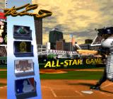 Ken Griffey Jr.'s Winning Run SNES Main menu.