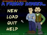 The Adventures of JP and Cosmo: A Friend Indeed Windows Title screen