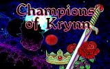 Champions of Krynn DOS Title