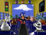 Sonic's Schoolhouse Windows 3.x Aboard the bus