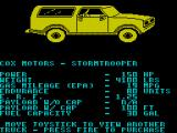 4x4 Off-Road Racing ZX Spectrum Truck selection
