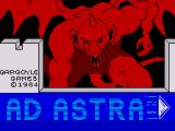 Ad Astra ZX Spectrum Loading Screen