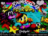 Rainbow Islands ZX Spectrum Loading Screen
