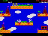 Rainbow Islands ZX Spectrum There are all kinds of insects including these