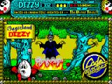 Magicland Dizzy ZX Spectrum Loading screen