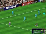 Microsoft Soccer Windows Throw in from the left