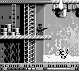 T2: Terminator 2 - Judgment Day Game Boy T-1000 can't swim...