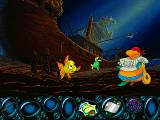 "Freddi Fish and the Case of the Missing Kelp Seeds Windows The clues we find may differ, but the chest with the ""kelp treasure"" will always turn out to be inside the sunken ship."