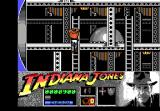 Indiana Jones and the Last Crusade: The Action Game DOS Level 3 - Climbing a ladder.