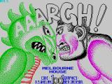 AAARGH! ZX Spectrum Title screen