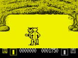 AAARGH! ZX Spectrum Fight against the lizard