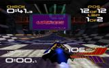 WipEout XL Amiga Amiga WipEout 2097 running in fullscreen mode