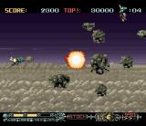 Phalanx SNES Loads of enemies right from the start...