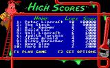 Pipe Dream DOS High Scores.