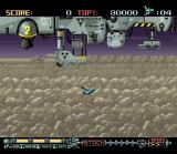 Phalanx SNES The mother-ship puts you into stage 1