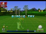 Hot Shots Golf PlayStation Going for a birdie