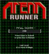 Arena Runner Windows Game Over