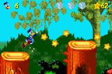 Disney's Donald Duck Adv@nce!*# Game Boy Advance Level: Duckie Mountain.