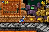 Disney's Donald Duck Adv@nce!*# Game Boy Advance Level: Merlock's Temple.