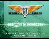 CT Special Forces 3: Bioterror PlayStation First title screen.