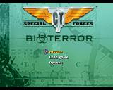 CT Special Forces 3: Bioterror PlayStation Main menu.