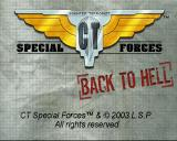 CT Special Forces: Back in the Trenches PlayStation Title screen #1.