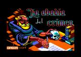 La Abadía del Crimen Amstrad CPC Loading screen