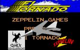 F1 Tornado Atari ST Second title screen