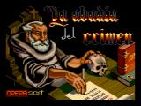 La Abadía del Crimen MSX Loading screen (MSX2 remake)