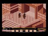 La Abadía del Crimen MSX Arrival at the abbey (MSX2 remake)