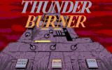 Thunder Burner Atari ST Main Menu