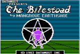The Bilestoad Apple II Title screen