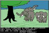 Time Zone Apple II A herd of mastodons about to stampede