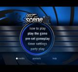 The main menu appears after the piracy warning and company logos for Optreve & Screen Life