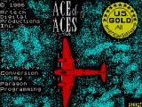 Ace of Aces ZX Spectrum Title screen