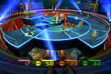 Fuzion Frenzy Xbox Centrifugal Farce -- Collect tokens on the spinning platform while dodging the portions of the platform that are randomly dropping away
