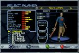 Tony Hawk's Pro Skater 2x Xbox Skater selection