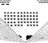 High Resolution Invaders ZX81 Getting killed
