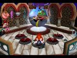 Crash Bandicoot: Warped PlayStation Spheres like this transport Crash to and from levels.
