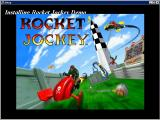 Rocket Jockey Windows Artwork from the game's installation process<br><br>Demo version