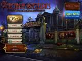 Macabre Mysteries: Curse of the Nightingale iPad Main menu