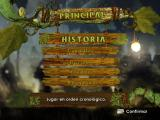Arthur and the Invisibles: The Game Windows Main menu