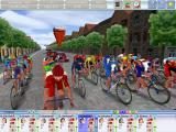 Cycling Manager 2 Windows The race begins.