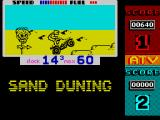 ATV Simulator ZX Spectrum First trail is relatively easy