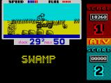 ATV Simulator ZX Spectrum Speed is essential for progress