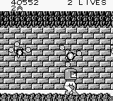 "Bart Simpson's Escape from Camp Deadly Game Boy ""Spinning atoms"", no problem."