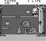 Bart Simpson's Escape from Camp Deadly Game Boy I love apples but...