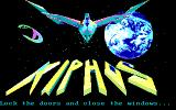 Xiphos DOS Title Screen (EGA)