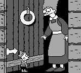 The Simpsons: Bart & the Beanstalk Game Boy As the door opened, Bart came face to foot with the beautiful wife of the giant...