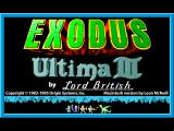 Exodus: Ultima III Macintosh Title screen (LairWare version).